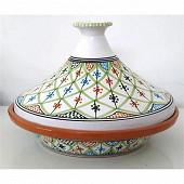 Tjina de cuisson 27 cm décor saharia