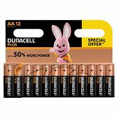 Duracell piles plus power aax12 os
