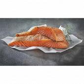 Pavé de saumon mariné