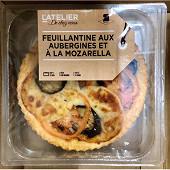 Feuillantine aubergine mozzarella 2x170g