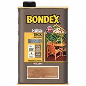 Bondex huile teck naturel ambre 0.5L
