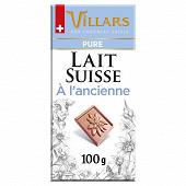 Villars tablette pur lait 100g