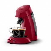 Philips machine à dosettes Senseo original rouge intense + 2 tasses HD6554/92