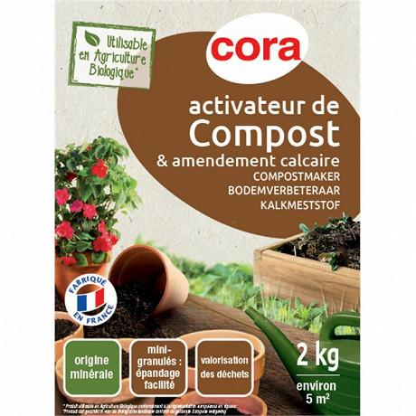 Activateur de compost 2 kg cora