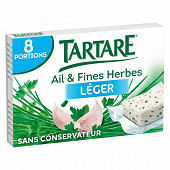 Tartare léger ail et fines herbes 8 portions 14%mg 128g