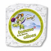 Tomme farce olives 160g 24%mg/pt