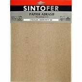 Sinto papier abrasif feuilles pour ponçage à sec grain fin