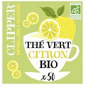 Clipper thé vert citron 85g