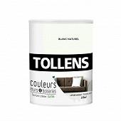 Tollens peinture couleur M&B satin blanc naturel 0.75l