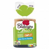 La boulangère pain de mie bio complet sans sucres ajoutés 500g