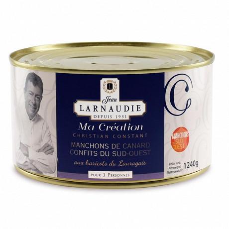 Jean larnaudie manchons de canards aux haricots du lauragais 1240g