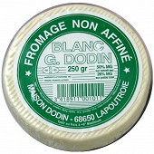 Dodin Petit fromage blanc nature  27%mg/pt 250g