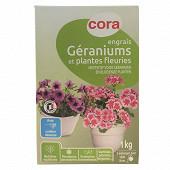 Cora engrais géraniums 1kg soluble
