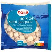 Cora noix de Saint Jacques sans corail  80/120  500g