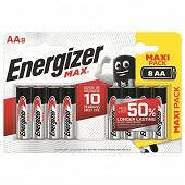 Energizer 8 piles Max AA (lr06)