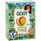 Good Goût Kidz mangue 4x90g