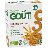Good goût biscuits tout ronds cacao 80g
