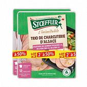 Stoeffler assiette de charcuterie lot 2 x 225 g le 2ème à 50 %