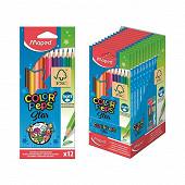 Maped 12 crayons de couleur en pochette carton