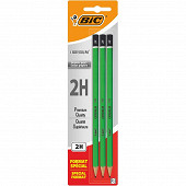 Bic crayon graphite criterium 550 2H x 3