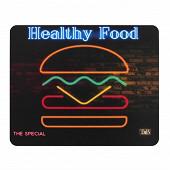 T'nb Tapis souris neon design burger TSNBURGER