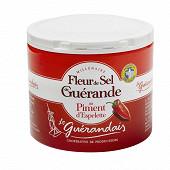 Le guerandais fleur de sel de guerande au piment d'espelette 125g