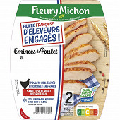 Fleury Michon émincés de poulet filière française d'éleveurs engagés 150g