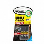 Uhu strong & safe 3X1 g minis gel