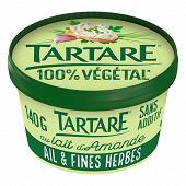 Tartare végétal ail et fines herbes pot 140g