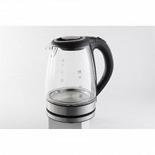Silver style bouilloire en verre 1,7L 002031