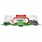 Soignon la buchette de chèvre nature  19%mg 150 g