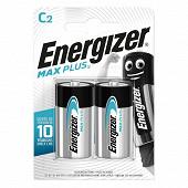 Energizer 2 piles alcalines C (LR14) max plus