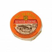 Munster géromé aop au lait pasteurisé de vache 27%mg/pt