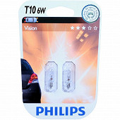 Philips ampoules T10 12V 6 W