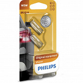 Philips ampoules voiture W 12V 5W