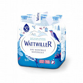 Wattwiller eau minérale naturelle plate 6x1l
