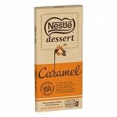 Nestlé Dessert tablette de chocolat au lait caramel 170g