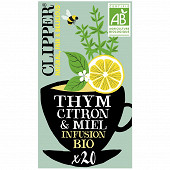 Clipper infusion thym citron 32g