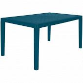 "Table ""gruvyer"" en polypropylène col bleu pétrole"