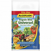 "Engrais bleu universel ""prix choc"" sac 6kg algoflash"