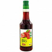 Nature bio sirop de fraise pet 50cl
