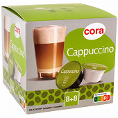 Cora capsule type dolce gusto capuccino 8x2 193G