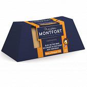 Montfort Grande Sélection Bloc de foie gras de canard 30% morceaux au champagne et poivres 460g
