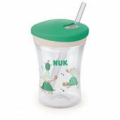 Tasse Evolution Cup - Paille flexible - Mixte 12m+ Nuk