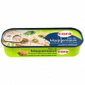 Cora filets de maquereaux marinés au citron et aux olives vertes 176g