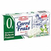 Carré Frais 0% ail & fines herbes 8 portions 200g