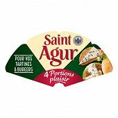 Saint agur portion 4x25 g
