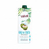 Vavai eau de coco 100% naturelle sans sucres ajoutés brique 1l