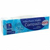 Cora mouchoirs mini 4 plis 15X9