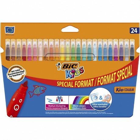 Bic feutres de coloriage kids kid couleur offre spéciale x24